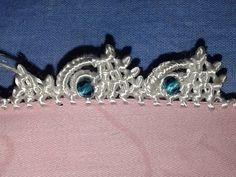 الدرس77: تعلمي كيفية عمل ضرس بالعقيق مع أم ياسين | Randa - YouTube Party Wear Indian Dresses, Saree Kuchu Designs, Saree Tassels, Tatting Jewelry, Needle Lace, Animal Tattoos, Crochet Designs, Hand Embroidery, Pattern Design