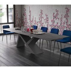 YumanMod Wonder Concrete Extendable Dining Table   AllModern