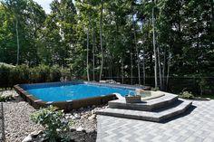 Piscine semi creus e tr vi piscine hors sol pinterest for Piscine trevi
