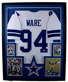 DeMarcus Ware Framed Jersey Signed JSA COA Autographed Dallas Cowboys Mister Mancave http://www.amazon.com/dp/B00JPYC5RI/ref=cm_sw_r_pi_dp_zm.swb0GA9E08