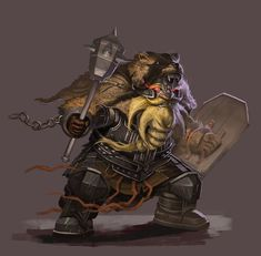 Chaos dwarf warrior