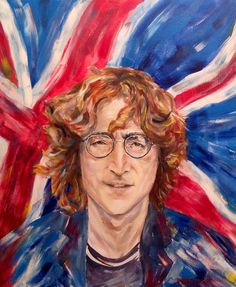 John Lennon/Portrait/Custom Portrait/POP ART Custom от UkrHeart