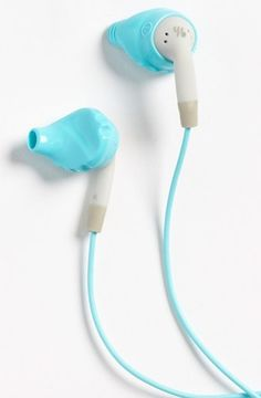 Headphones that won't fall out! Just be sure to throw them in a QK pouch so you won't lose them in your bag!
