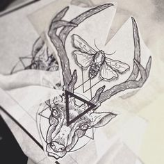 hannibal stag tattoo - Google Search
