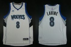 "$23.88 at ""MaryJersey""(maryjerseyelway@gmail.com) Timberwolves 8 Zach LaVine White Home Stitched NBA Jersey"