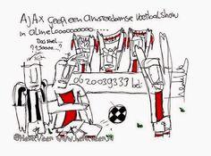 #heraja door Henk Veen #Ajax