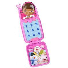 8a0cf7533a0 Disney Doc McStuffins Doc s on Call Pretend Cell Phone 24.99 Doc Mcstuffins  Toys
