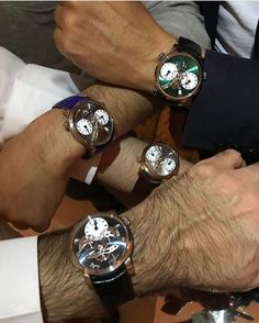 REPOST!!!  This happens when @maxbusser meets @patekaholic in Kuwait  #horologicalmeeting #mbandf #watchinsanity  Photo Credit: Instagram ID @jacopo_corvo Tourbillon Watch, Photo Credit, Shit Happens, Instagram Posts