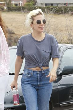 Just like us! Lady Gaga kept it casual on Sunday as she went for a stroll in Malibu to run...