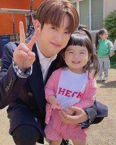 Park Jinyoung and Kids Got7 Jinyoung, Youngjae, Bambam, Kim Yugyeom, Park Jin Young, Got7 Members, Mark Jackson, Kpop, Korean Actors
