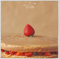 Gros gâteau d'anniversaire facile - Recette - Petits Béguins