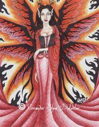 Faery Fantasy Art 2006/2007 -    PHANTOM'S  ROSE: the Fantasy Faery WORLD  of  Coriander Shea