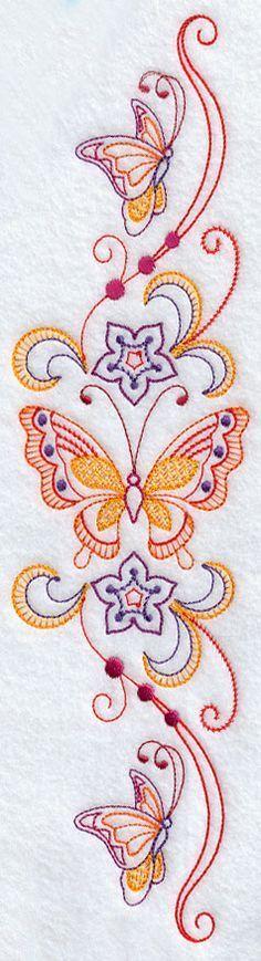 butterfly pillowcase design
