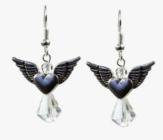 Make some divine dangles to celebrate the season with this easy pattern for Angel Earrings. If you like to show your Christmas spirit in a more subtle way, these silver and crystal DIY earrings should do the trick.