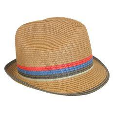 Dorfman Pacific Men s Wool Blend Fedora Hat with Herringbone Band ... 18f355d7abe8