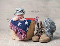 Newborn military theme