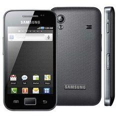 Celular Desbloqueado Samsung Galaxy Ace S5830 Preto, por R$599,00