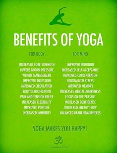 Benifits of Yoga