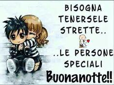 Buonanotte Italian Memes, Good Night, Neon, Fictional Characters, Genere, Dolce, Hugs, Facebook, Friends