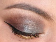 Repinned: Smoky blue and brown with theBalm Shady Lady vol 2 palette.
