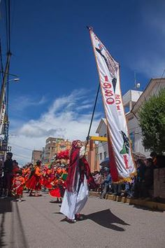 Acabo de compartir la foto de Ronald Alex Espinoza Marón que representa a: La Candelaria, Puno