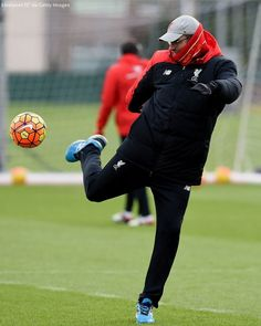 training 150116 - Liverpool FC