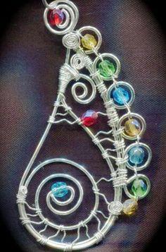 Wire pendant design