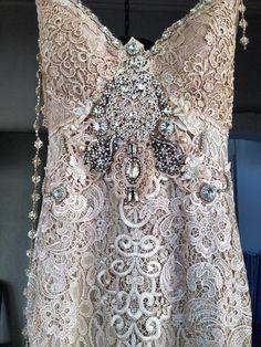 Handmade totally embellished Goddess Dress:-)