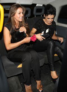Brooke Vincent Kym Marsh Photos: 'Coronation Street' Stars Leave the RTS Awards