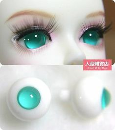 16mm  For BJD DOD AOD MK OK RD Doll Dollfie Glass Eyes Outfit Yellow brown 29