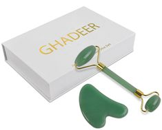 d16289f510 Jade roller   Gua Sha Set is the perfect way to get instant glowing and  radiating skin. It is also great for improving the skin texture and  smoothing the ...