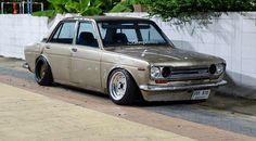 "radracerblog: "" Datsun 510 Bluebird rat style """