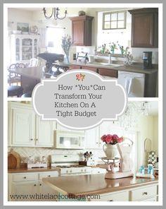 5+Budget+Friendly+Ways+To+Transform+A+Kitchen
