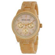 5328fa2392e Michael Kors Jet Set Horn Ladies Watch MK5039