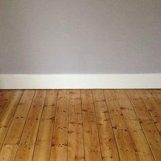 white skirting board grey walls - Google Search