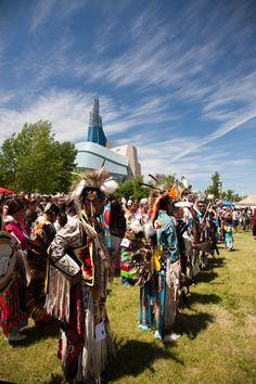 Powwow in The Forks, Winnipeg Aboriginal Day, Pow Wow, Forks, City, Bobby Pins, Fork