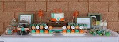 This is a kid's five-year-old birthday party! Still pinning because it's beautiful