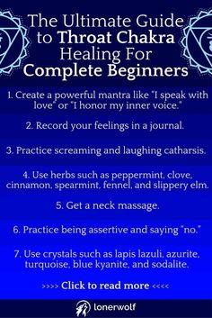 Try these Vishuddha Throat Chakra healing practices if you feel unheard, misunderstood, or anxious.