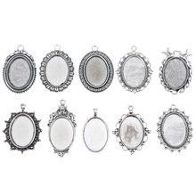 10 x Gltter Fées Handmade dome cabochons 25x18mm Fabrication de Bijoux Scrapbook