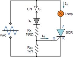 AC #Thyristor Circuit #Electronics #Electrical