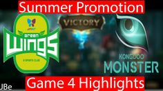 JAG vs Kongdoo Game 4 Highlights LCK Summer Promotions 2017
