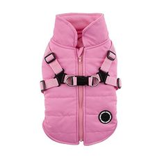 Puppia Authentic Mountaineer II Winter Vest Large Pink ** Visit the image link more details.