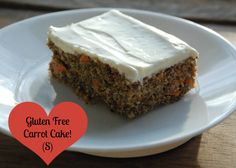 Gluten Free Carrot Cake!  THM S for Satisfying!  Sugar free, gluten free and yummy!