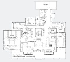1000 images about lake house plans on pinterest walkout for Custom home floor plans with basement