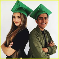 Karan Brar & Paris Berelc Team Up For #GetSchooled Campaign