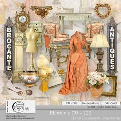 CAJOLINE-SCRAP: Elements CU - 122
