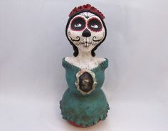 day of the dead doll by amber leilani middleton, via Flickr