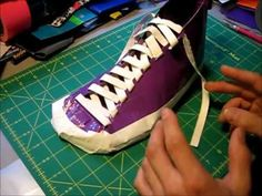 How to make Duct tape shoes Part 1 - YouTube haha fun idea