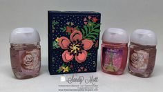 The Scrap n' Stamp Shop: QUICK AND EASY SANITIZER HOLDER & FREE PATTERN