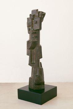 Edoardo Villa (1915 - 2011) Standing figure Bronze Height: 54 cm Thing 1, Art Forms, Sculpture Art, Villa, Bronze, Fork, Villas